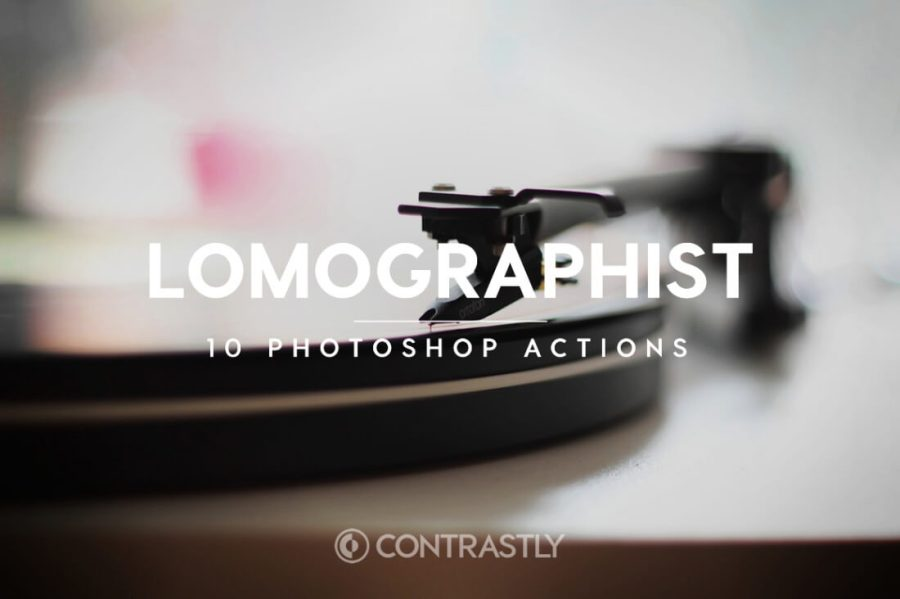 Lomographist Photoshop Action Bundle Contrastly