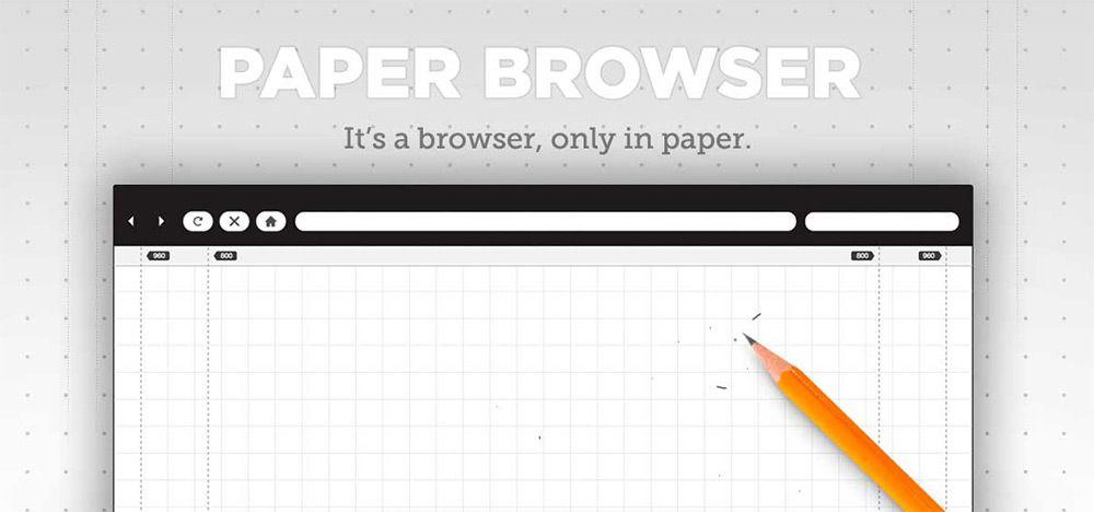 paper browser printables