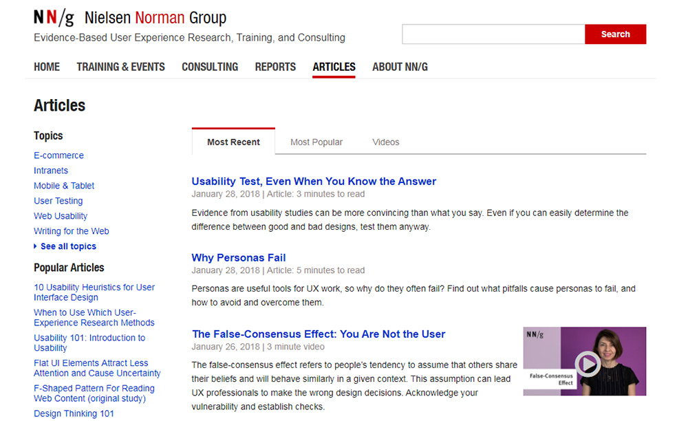 NN Group blog