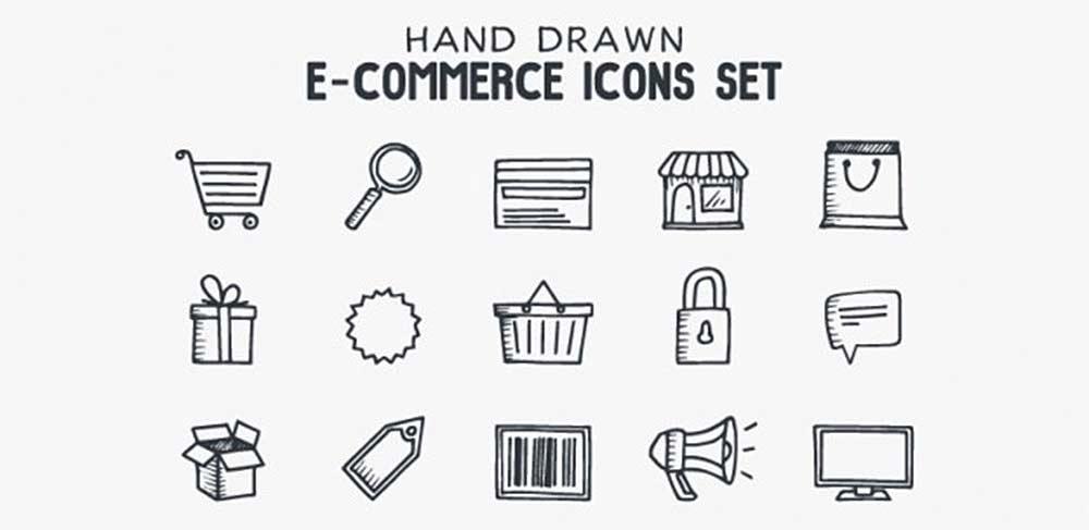 Hand-Drawn Icons Set