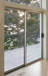 milgard aluminum sliding glass patio door