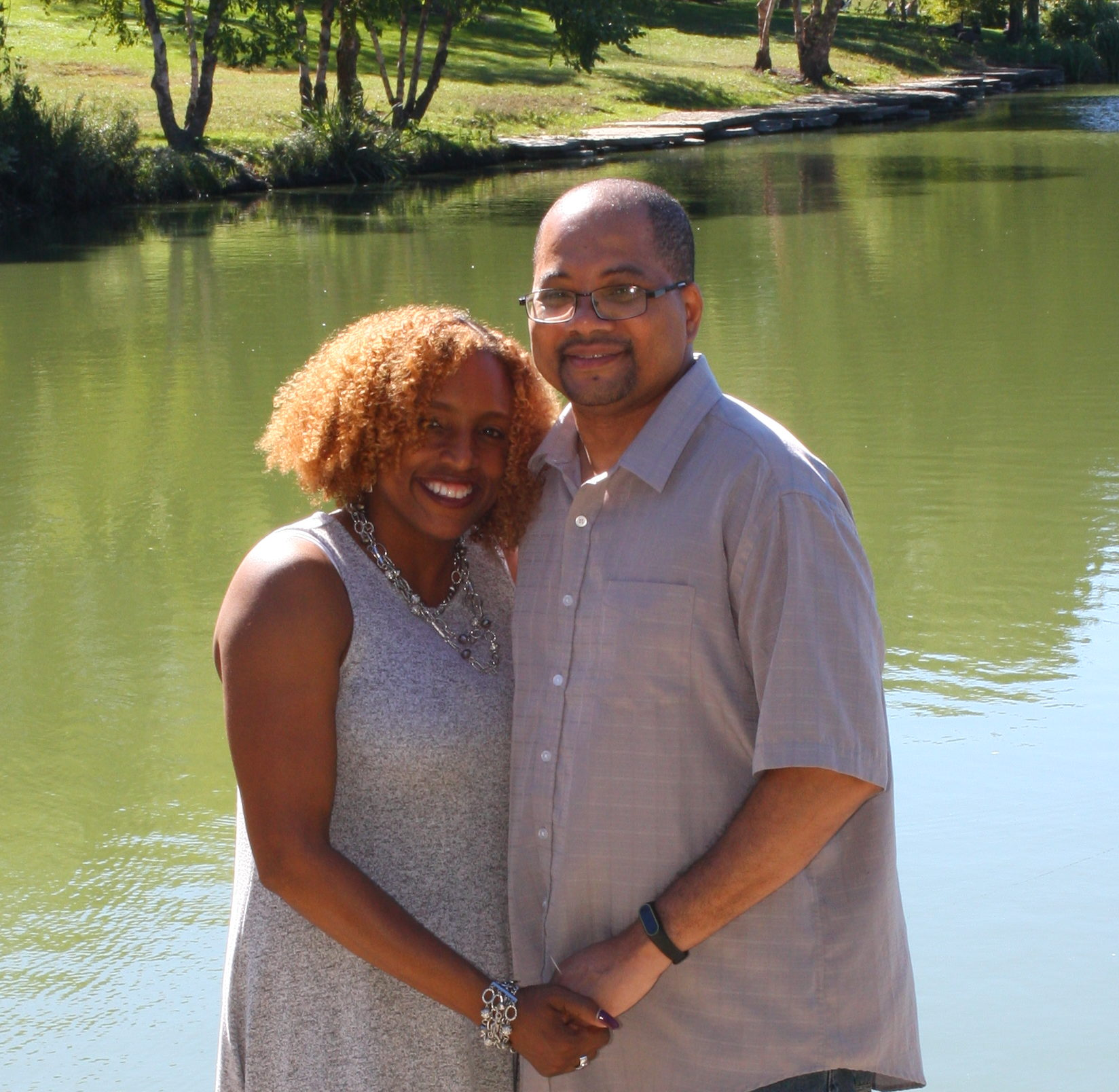Lifetime Adoptive Parents Aaron and Amethyst