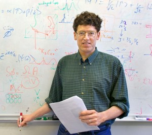 Physicist Michael Crommie holds joint appointments with Berkeley Lab and UC Berkeley. (Photo by Roy Kaltschmidt)