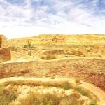 An Anasazi Kiva in Chaco Canyon, New Mexico