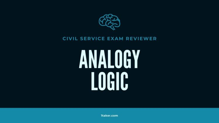 analogy and logic test questions civil service exam