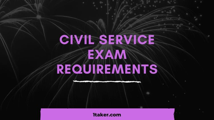 civil service exam requirements professional and subprofessional philippines