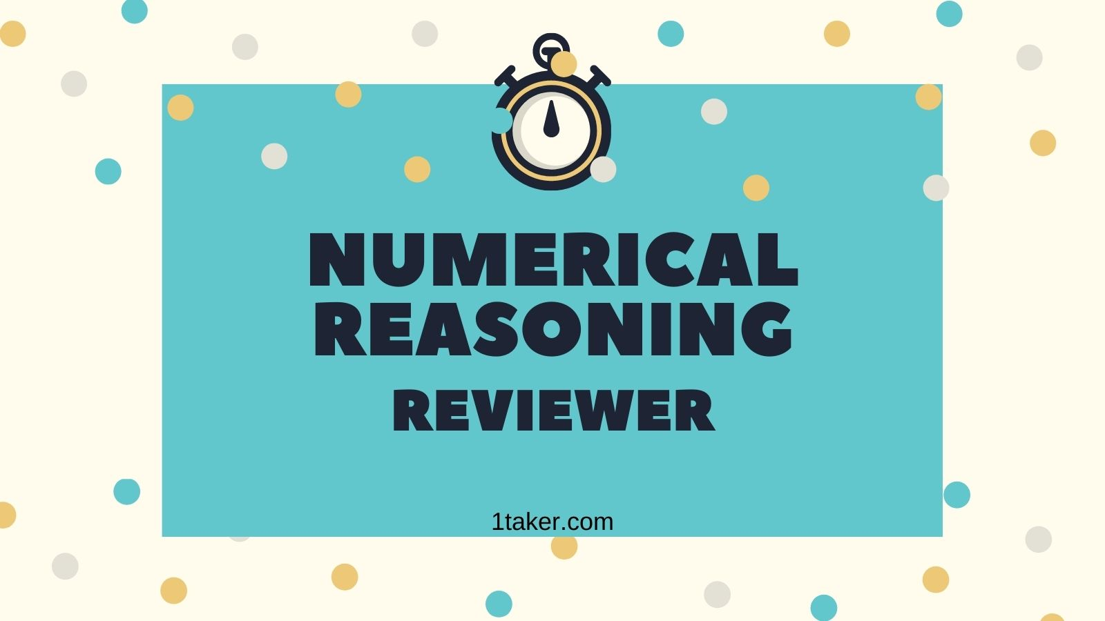 numerical reasoning sample questions civil service exam