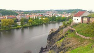 Prag Vysehrad Moldau