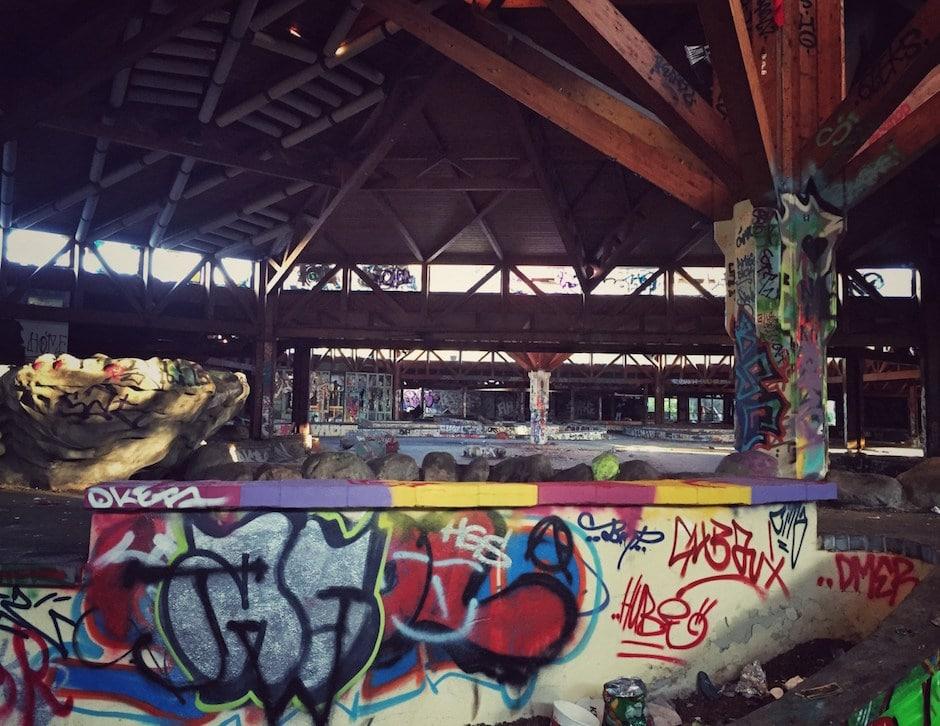 Blub Berlin Graffitis