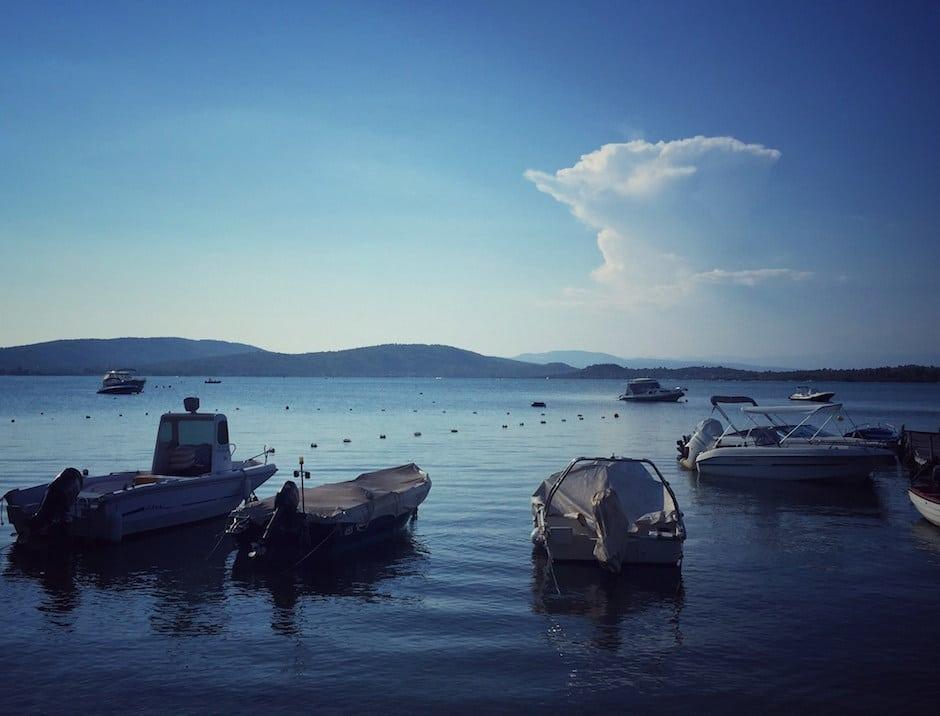 Fischerboote Vourvourou