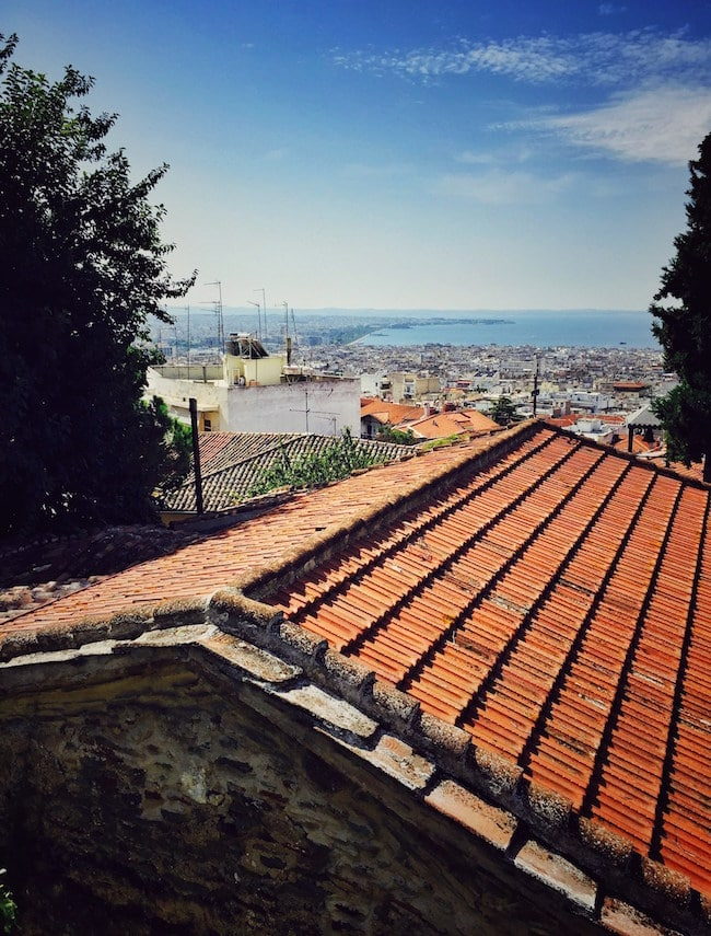 Ano Poli Thessaloniki