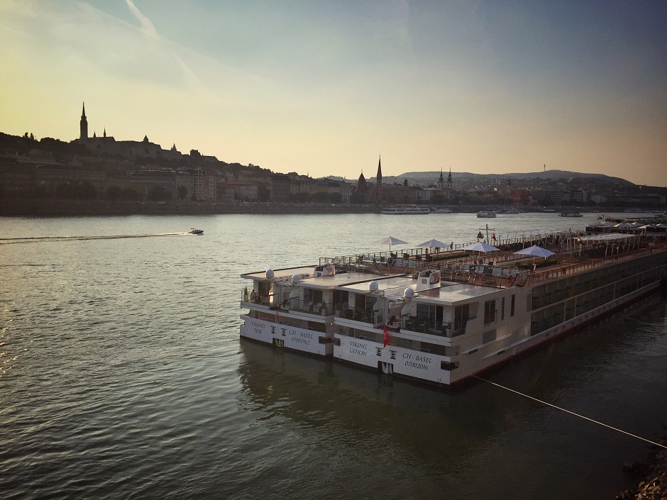 Budapest Sonnenuntergang Donau