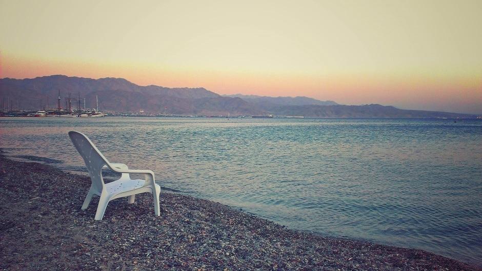 Israel Eilat Strand