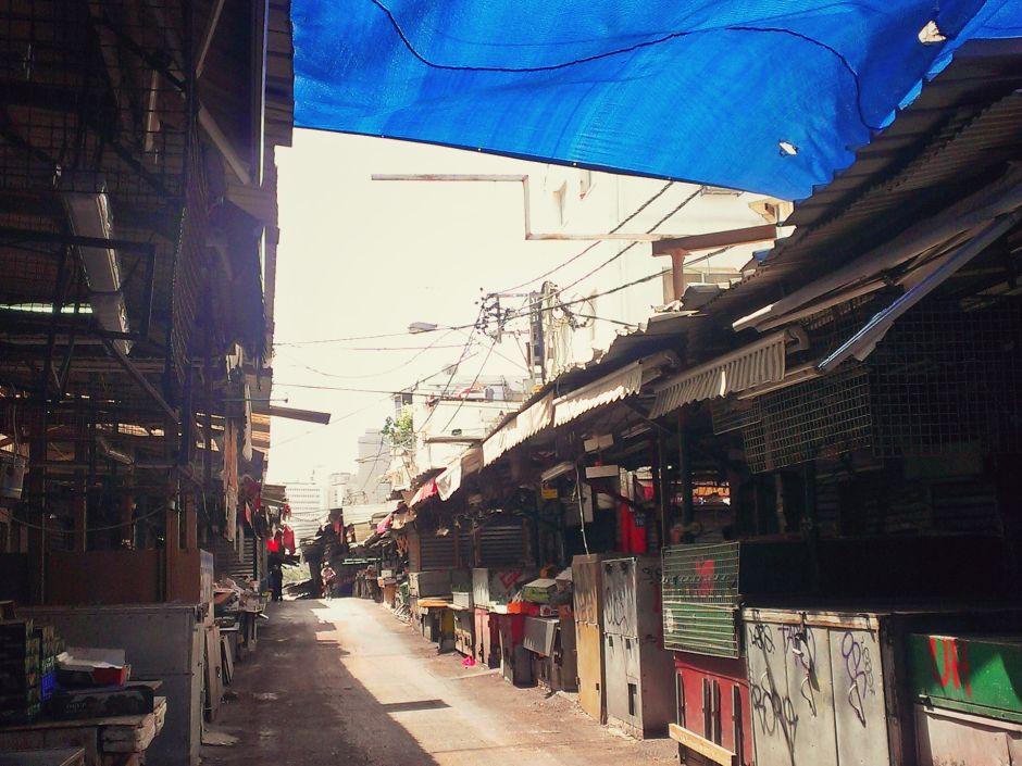 Carmel Market Tel Aviv closed