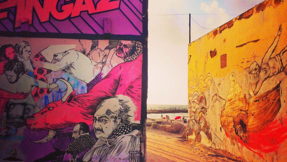 Tel Aviv Street Art Strand