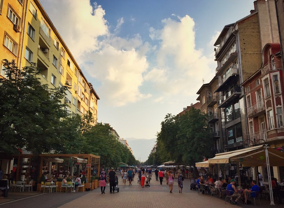 Witoscha-Boulevard Sofia
