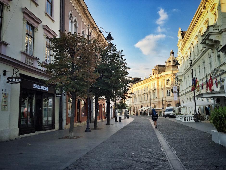 Sibiu Altstadt