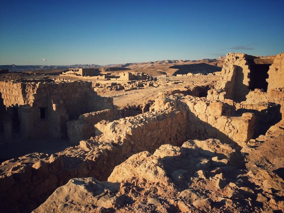 Masada Sonnenaufgang Wanderung