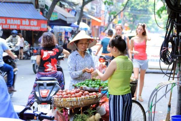 Vietnam Essen auf der Straße
