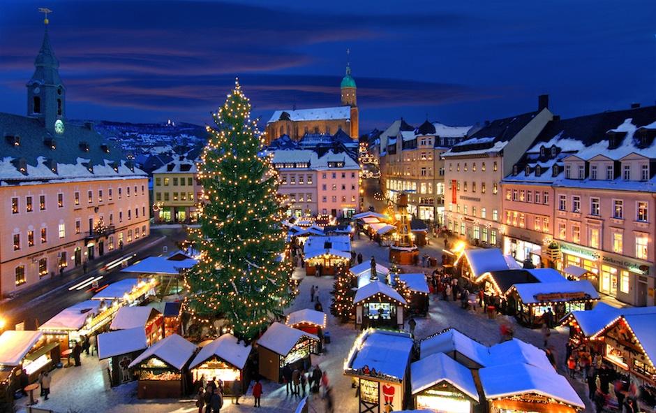 Besondere Weihnachtsmärkte Sachsen