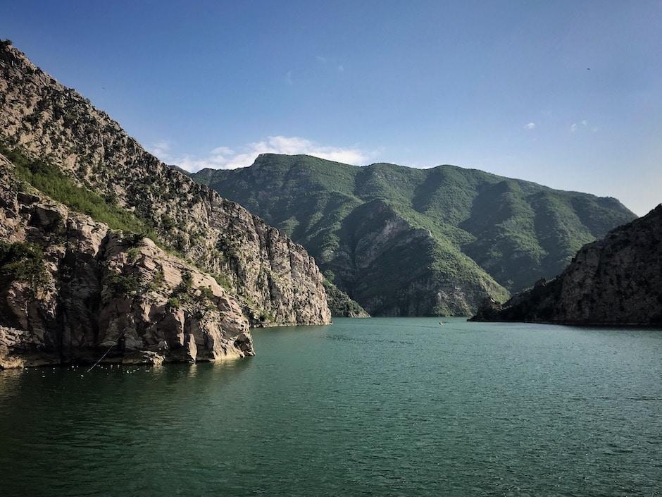 Koman-Stausee Albanien