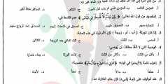 الإجابات النموذجية لامتحان القرآن الكريم وعلومه – توجيهي الفرع الشرعي 2019