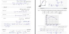 مُراجعة نهائية وامتحانات محلولة في مادة الرياضيات للصف الثامن