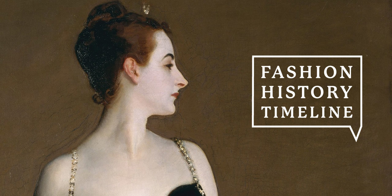 Welcome! What is the Fashion History Timeline?   Fashion History Timeline