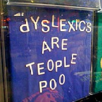 What Dyslexia Looks Like!