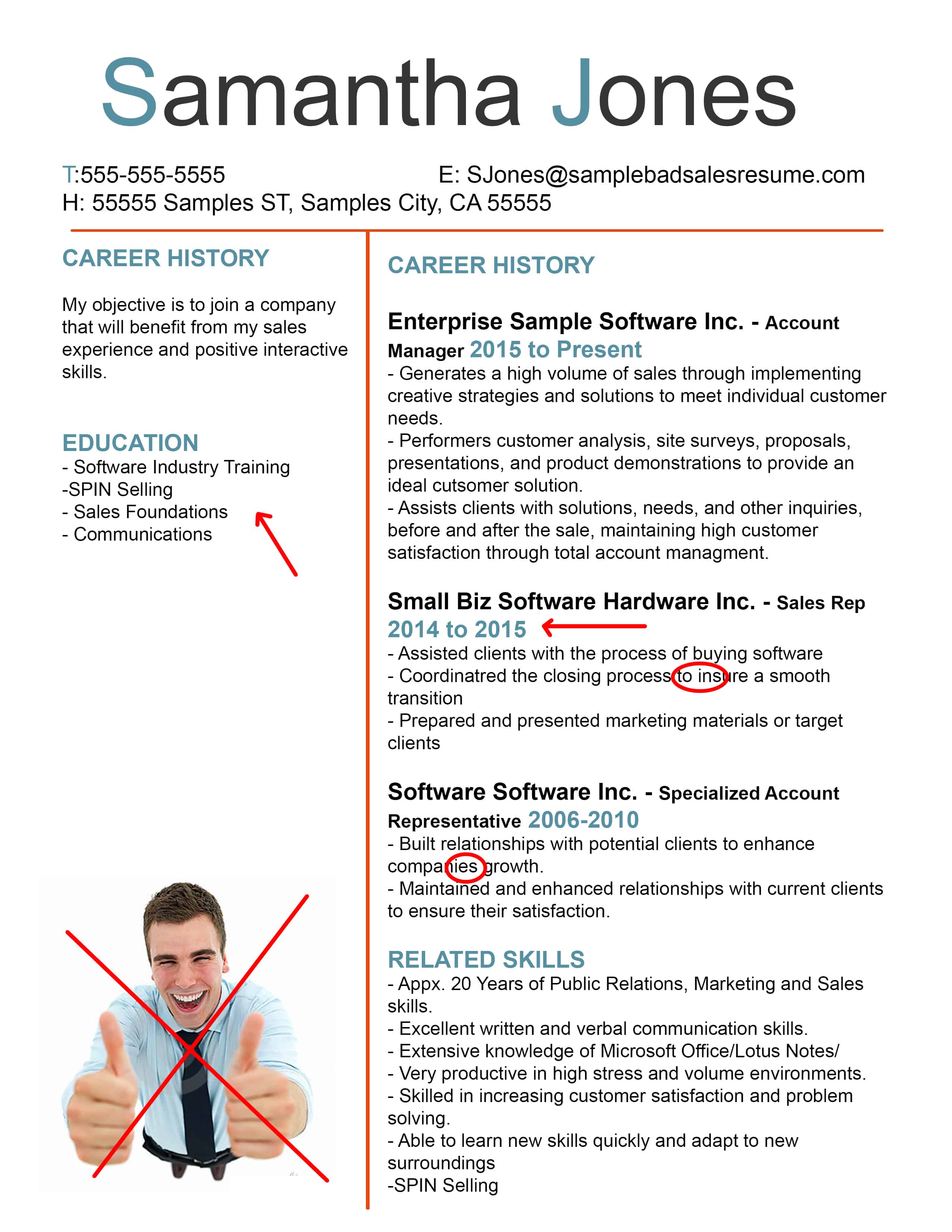 resume objective examples resume sample high bad resume examples