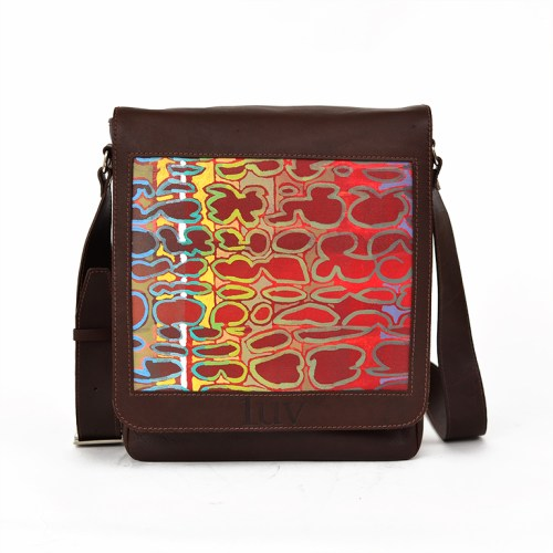 MB Messenger Bag-Red Birkeland-Brown