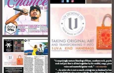 1uv Designs in Exclaim Magazine