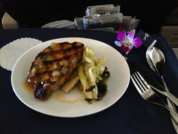 Review Alaska Airlines First Class To Hawaii Sea Ogg