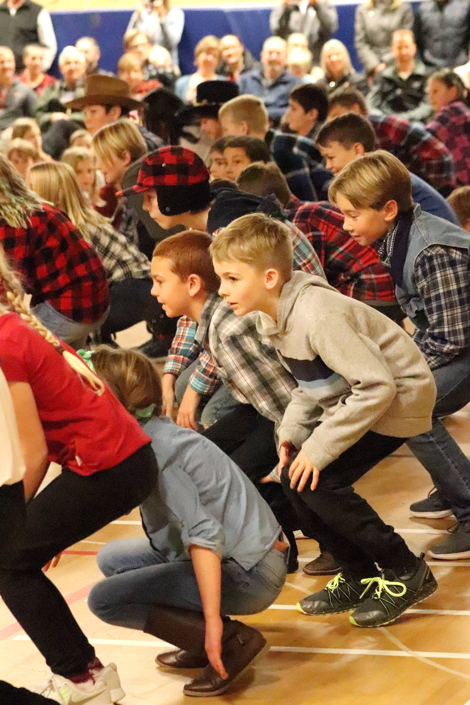 Coldstream Students Kick Up Their Heels For Eli Vernon