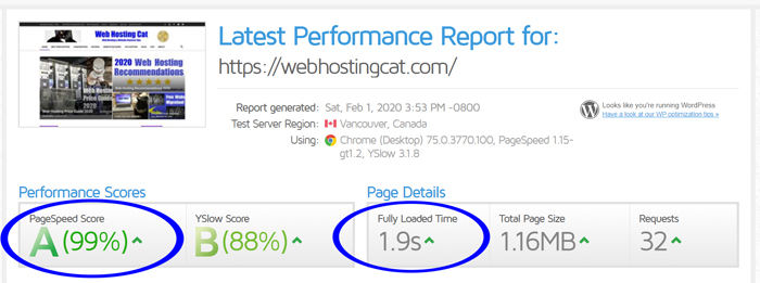inmotion-hosting-speed-test-results