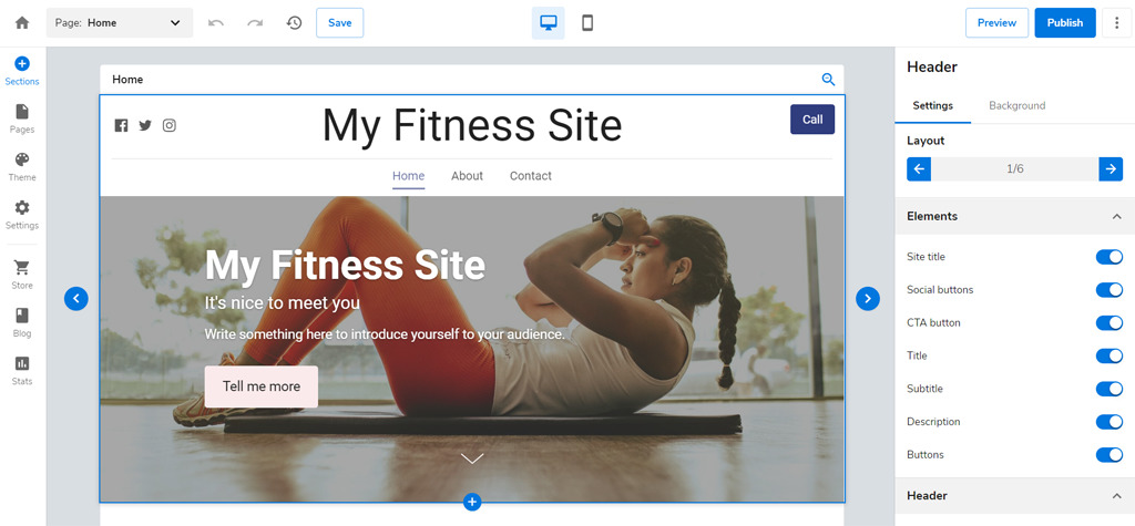 Bluehost Fitness