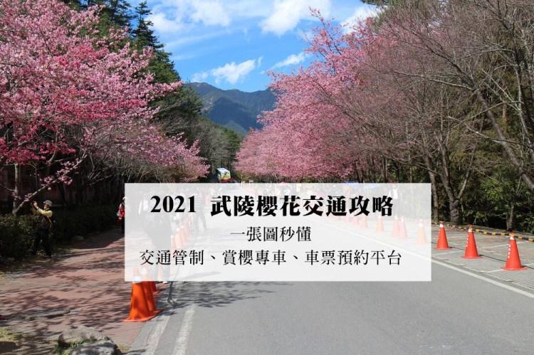 2021武陵櫻花交通管制、賞櫻專車路線(國光客運、豐原客運)、車票預約平台   一張圖秒懂