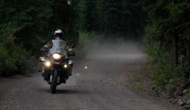 Kevin on the BMW R1200GS Adventure
