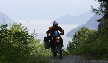 Glenn and his KTM 640 Adventure