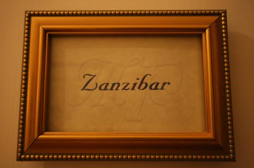 Welcome to the Zanzibar Room