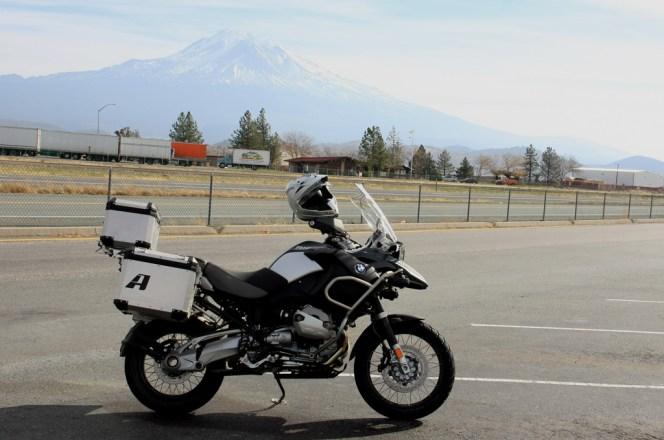 GSA in front of Mount Shasta
