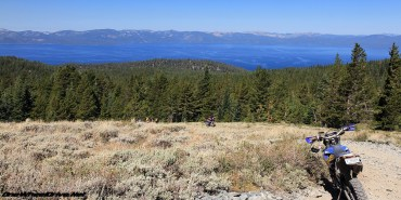 Genoa Peak Trail above Tahoe.