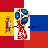 pronostico Spagna-Russia