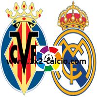 Pronostico Villarreal-Real Madrid