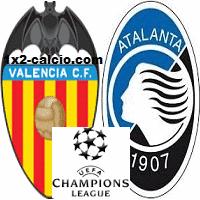 Pronostico Valencia-Atalanta