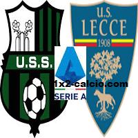 Pronostico Sassuolo-Lecce
