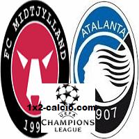 Pronostico Midtjylland-Atalanta