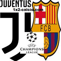Pronostico Juve-Barcellona