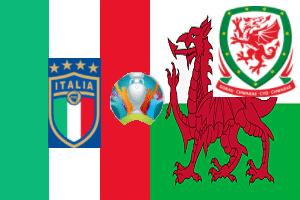 Pronostico Italia Galles