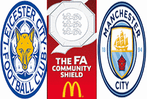 Pronostico Leicester-Manchester City Supercoppa